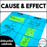 Cause and Effect - Reading Interactive Notebook