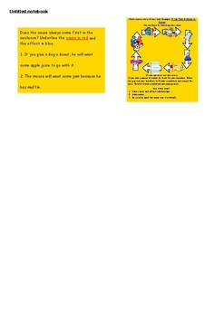 Cause & Effect SMART NOTEBOOK Activities