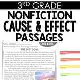 Cause & Effect 3rd Grade Reading Toothy®