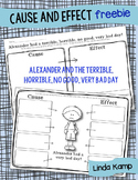 Cause & Effect {Alexander and the Terrible, Horrible, No G