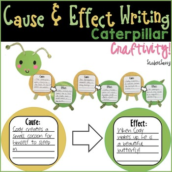 Cause & Effect Caterpillar Craftivity!