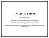 Cause & Effect Center