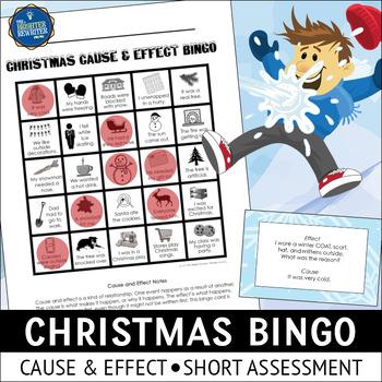 Christmas Cause and Effect Bingo