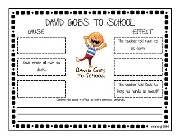 Cause & Effect- David Goes to School