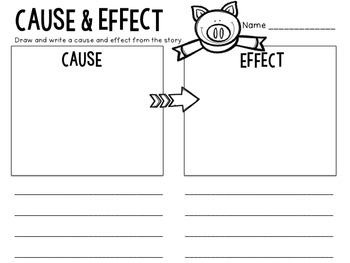Cause & Effect: Flipchart & Worksheets