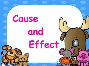 Cause & Effect: Flipchart & Worksheets