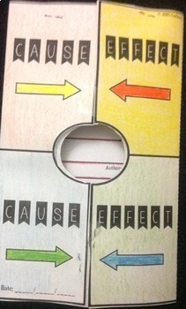Cause and Effect Foldable (Interactive Notebook)