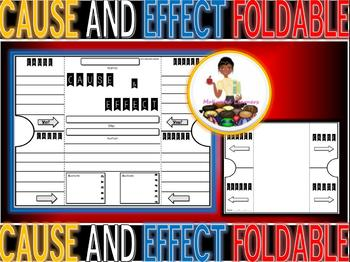 Cause & Effect Foldable