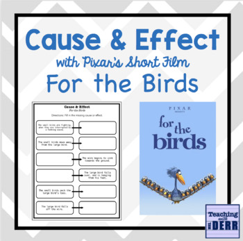 Cause & Effect with Pixar Short Film For the Birds