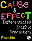 Cause & Effect Graphic Organizers