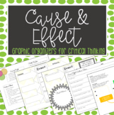 Cause & Effect: Graphic Organizers for Critical Thinking & Discussion