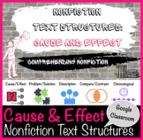 Cause & Effect Great Depression - Nonfiction Text Structures/Google Classroom