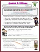 Cause & Effect Informational Text with Benjamin Franklin!