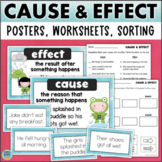 Cause and Effect Activities for Reading Centers