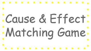 Cause & Effect Matching