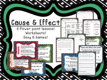 Cause & Effect Mini-Unit 93 pages!