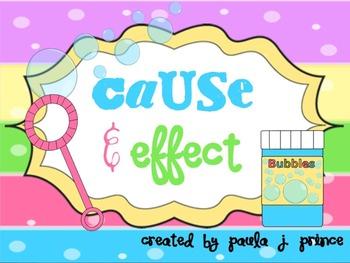Cause & Effect Mini-Unit