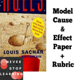Cause & Effect Paper based on HOLES by Louis Sachar