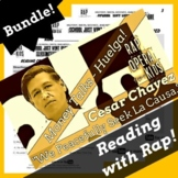 Cause & Effect Passage Nonfiction: Cesar Chavez Biography and Reading Activities