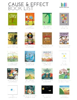 Cause & Effect Picture Book List