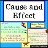 Cause and Effect Lesson in Power Point