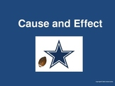 Cause & Effect Powerpoint- Football Themed
