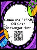 Cause & Effect QR Code Scavenger Hunt