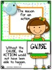 Cause & Effect Reading Kit for Comprehension - TWITTER GAME & Graphic Organizers