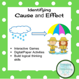 Cause & Effect Signal Words Scoot