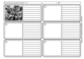 Cause & Effect Storyboard