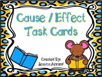 Cause Effect Task Cards