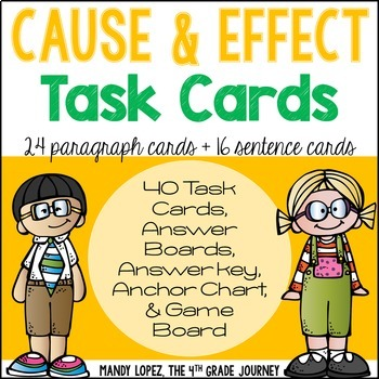Cause And Effect Paragraphs Worksheets & Teaching Resources   TpT