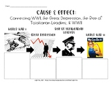 Cause & Effect--WWI, Great Depression, Totalitarian Leader