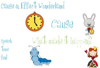 Cause and Effect Wonderland