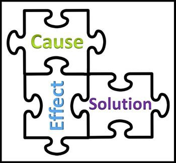 Cause Effect and Solution Puzzle