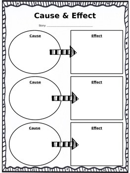 Cause & Effect practice *editable*