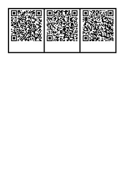 Cause & Effect with QR Codes