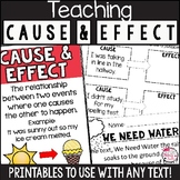 Cause and Effect Activities and Worksheets