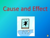 Cause and Effect PowerPoint Distance Learning