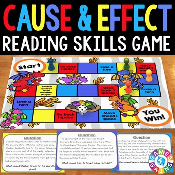 Cause and Effect Activity: Cause and Effect Reading Game
