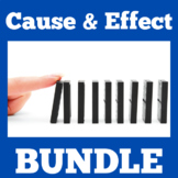 Cause and Effect   1st 2nd 3rd Grade   Activities BUNDLE