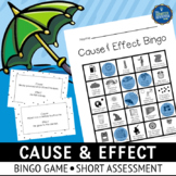 Cause & Effect Bingo