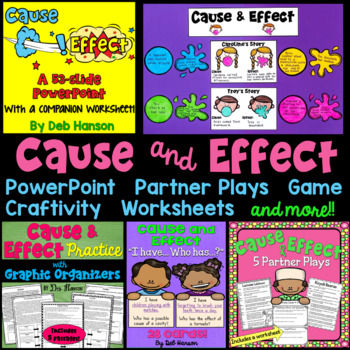 Cause and Effect: A Bundle of Activities!