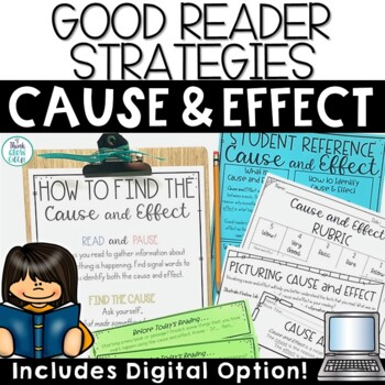 Cause and Effect Passages and Task Cards