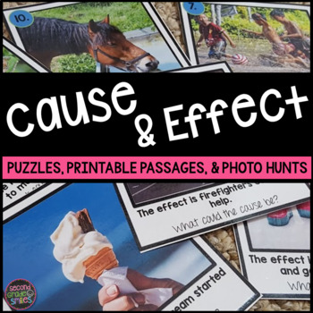 Cause and Effect (Puzzles, Printables & More)