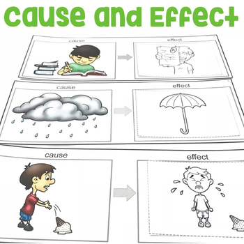 Cause and Effect | Cause and Effect Activities