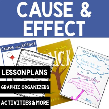 Cause and Effect Graphic Organizers: 8 Printable Activities