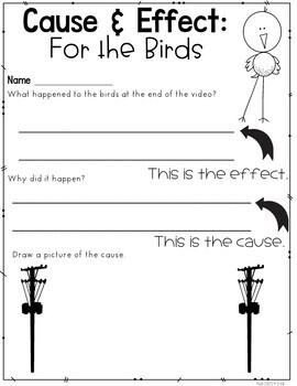 Cause and Effect Graphic Organizers: Graphic Organizers, Posters, Lesson Plan