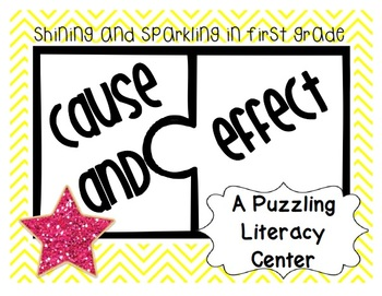 Cause and Effect {A Puzzling Literacy Center}