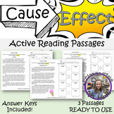 Cause and Effect Active Reading Passages
